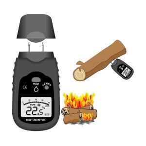 SmartBurn moisture meter