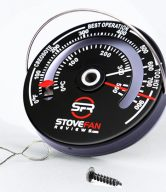SFR Stove thermometer comes with a screw and a wire
