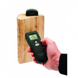 Check you fire wood with Valiant Moisture Meter