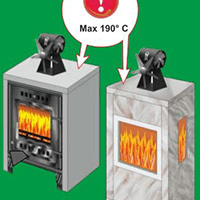 Soapstone/Gas Stove Fans