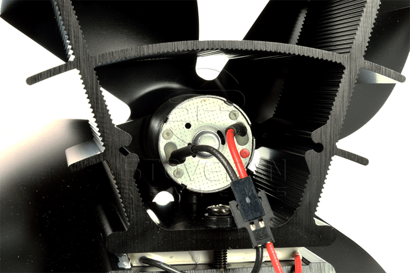 The Valiant PremiAIR motor mounting is solid and robust