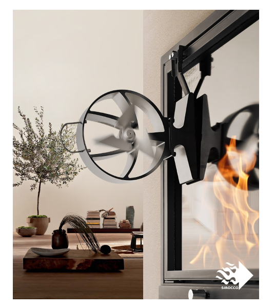 Sirocco Stove Fan A Phoenix Risen From The Dust