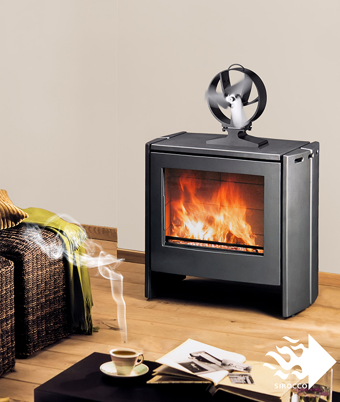sirocco stove fan a phoenix risen from the dust. Black Bedroom Furniture Sets. Home Design Ideas
